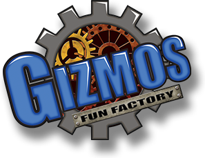 gizmos fun factory logo